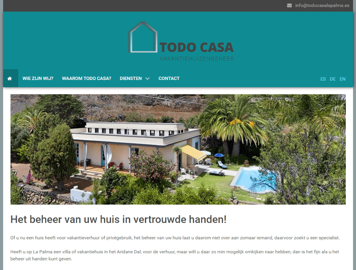 TODO CASA holiday property management